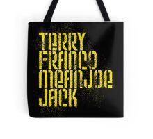 Terry Franco Mean Joe Jack / Black Tote Bag