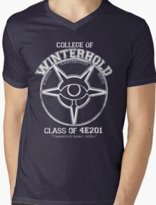 Winterhold College Graduate Mens V-Neck T-Shirt