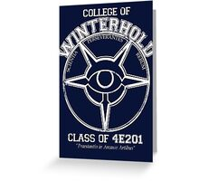 Winterhold College Graduate Greeting Card
