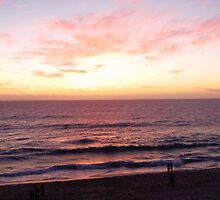 Sunset, Cottesloe Beach by justineb