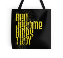 Ben Jerome Hines Troy / Black Tote Bag
