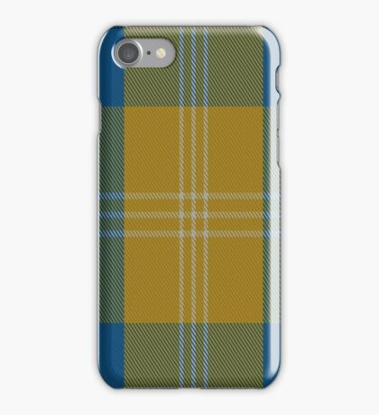 01488 Tilburg Hunting District Tartan  iPhone Case/Skin