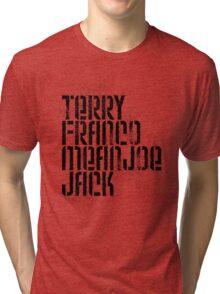 Terry Franco Mean Joe Jack / Gold Tri-blend T-Shirt