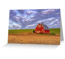 Palouse Country Barn Greeting Card