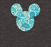 Mouse Paisley Patterned Silhouette Unisex T-Shirt