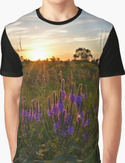 Looseleaf Sunset Graphic T-Shirt