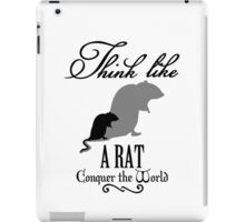 Think like Rat VRS2 iPad Case/Skin