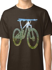 Mountain Bike Mountain and Sky - MTB Collection #003 Classic T-Shirt