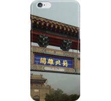 Entrance to Great Wall of China at Huangyaguan iPhone Case/Skin