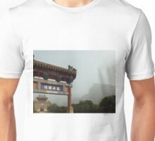 Entrance to Great Wall of China at Huangyaguan Unisex T-Shirt