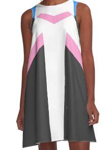 Paladin Armor - Pink A-Line Dress
