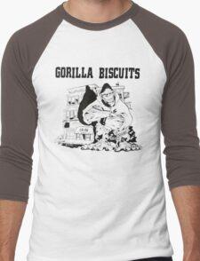 Gorilla Biscuits Men's Baseball ¾ T-Shirt
