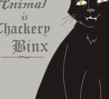 Binx - Hocus Pocus (Gray) Sticker
