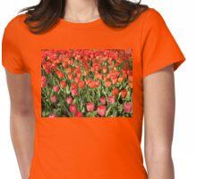 Keukenhof Tulips Womens Fitted T-Shirt