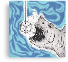 Dice With Death Canvas Print