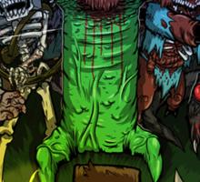 Minecraft Monsters Sticker