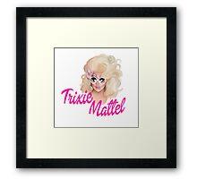 Trixie Mattel- Barbie Framed Print