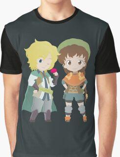Rudy & Isuzu Graphic T-Shirt