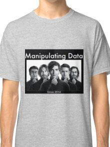 Silicon Valley: Manipulating Data Classic T-Shirt