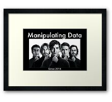 Silicon Valley: Manipulating Data Framed Print