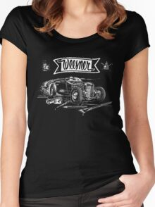 HOTROD STYLE Women's Fitted Scoop T-Shirt