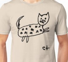 starry cat Unisex T-Shirt