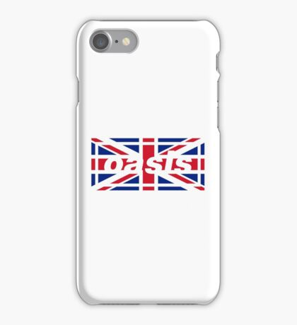 Oasis - Union Jack iPhone Case/Skin
