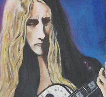 Jerry Cantrell of Alice In Chains by couellet