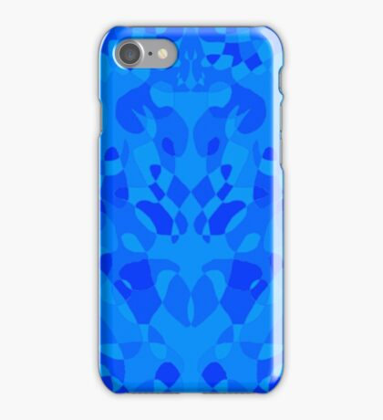 Becoming Blue iPhone Case/Skin