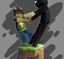 Minecraft Enderman by imLXZ