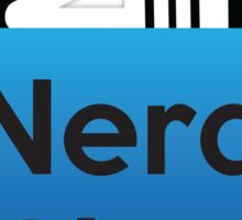 Nerd Chat Podcast Logo (Gradient) Sticker