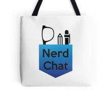 Nerd Chat Podcast Logo (Gradient) Tote Bag