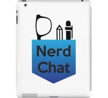 Nerd Chat Podcast Logo (Gradient) iPad Case/Skin
