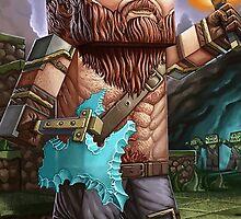 Minecraft Viking by imLXZ