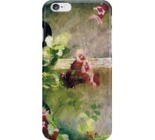 Bird House With Honeysuckle  iPhone Case/Skin