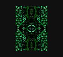 Green and black symmetry T-Shirt