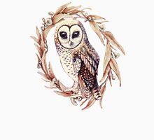 Little Owl in Golden Ecru Unisex T-Shirt