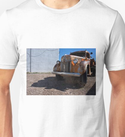Old Vehicle VII  BW - Ford Truck Color Unisex T-Shirt