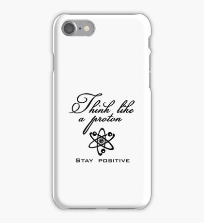 Think like a proton VRS2 iPhone Case/Skin