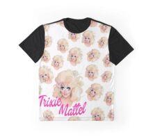 Trixie Mattel- Barbie Pattern Graphic T-Shirt