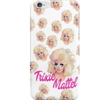 Trixie Mattel- Barbie Pattern iPhone Case/Skin