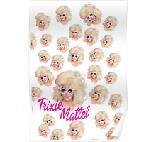 Trixie Mattel- Barbie Pattern Poster