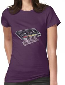 The 808 Tape Womens Fitted T-Shirt