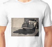 Old Vehicle VII  BW - Ford Truck Toned Unisex T-Shirt