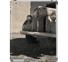 Old Vehicle VII  BW - Ford Truck Toned iPad Case/Skin