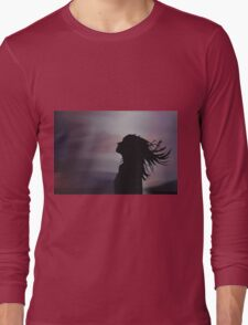 Silhouette of a girl! Long Sleeve T-Shirt