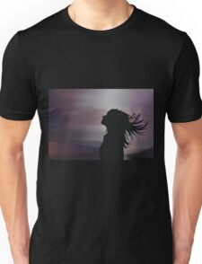 Silhouette of a girl! Unisex T-Shirt