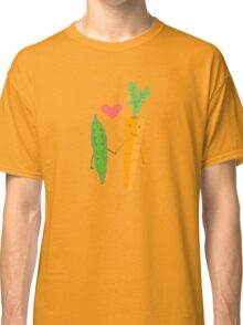Peas & Carrots in love Classic T-Shirt