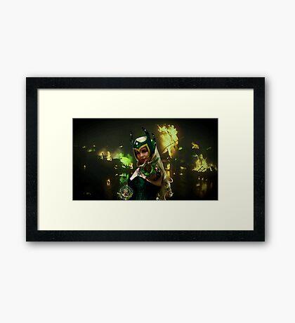 Wildfire Amora Framed Print