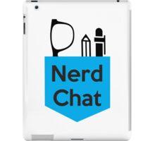 Nerd Chat Podcast Logo (No Gradient) iPad Case/Skin